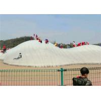 Buy cheap Excited Inflatable Theme Park Jumping Snow Mountain For Resort , Scenic Spot from wholesalers