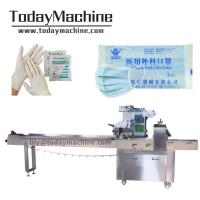 China Clear Disposable Plastic Gloves Autotomatic Packing Machine for sale