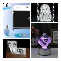 Wholesale Economic 2d/3D Crystal Laser Engraving Machine (HSGP-4KB) from china suppliers