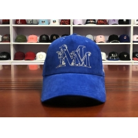 Buy cheap Hot Sales ACE Unisex 5 panels Blue Silk Print Logo With Flat Embroidery Logo on from wholesalers