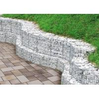 Wholesale High Durable Gabion Wire Mesh , Gabion Wall Construction 200x100x50cm Size from china suppliers