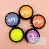 Wholesale For Beautiful Art Design Decoration Fluorescent Light Neon Color Nail Pigment Powder from china suppliers