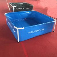 Small portable 1400L  square fish tank for fish show for sale