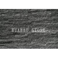 Wholesale Black Galaxy Slate Cultured Stone Panels For Interior Exterior Wall Cladding from china suppliers