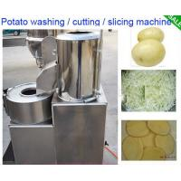 Wholesale High Effective Small Potato Chips Making Machine / Electric Potato Chip Cutter from china suppliers