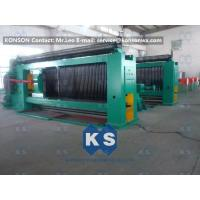 Auto High Speed Stone Gabion Mesh Machine With Wire Tension Device