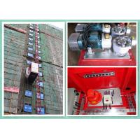 Wholesale Rack & Pinion Elevator With Twin Cage , Passenger Material Hoist Heavy Capacity Load from china suppliers