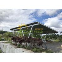 Wholesale OEM Solar Pv Mounting Systems , Carport Solar Racking Simple Design from china suppliers