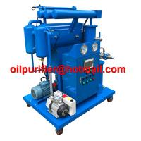 Single-stage Vacuum Insulation Oil Reclamation, Cable Oil Purifier, Dielectric Oil Processing Machine manufacture China for sale