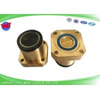 China Dia 40*32 Copper Pulley square EDM Parts Guide Wheel Pulley Assembly Ruijun WEDM on sale
