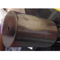 Best SS Johnson Wedge Wire Screen Cylinder Filter Elements For Liquid / Solid Separation wholesale