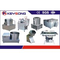 Wholesale Small Scale Potato Chips Machine , Frozen French Fries Production Line Equipment from china suppliers