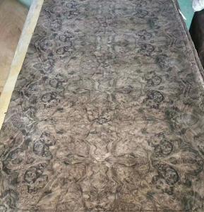 Wholesale Walnut Burl Paper Backed Veneer | Paper Backed Walnut Burr Veneer Sheets from china suppliers