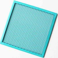 Wholesale A1060 Colorful Painting Expanded Aluminum Mesh Custom Size For Curtain Wall from china suppliers