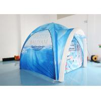 Wholesale Blue Air Arch Dome 0.4mm Plato Advertising Inflatable Tent from china suppliers