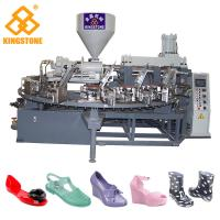 Wholesale Fully Automatic Rotary Plastic Shoes Making Machine For PVC Jelly Shoes short boots sandals slippers from china suppliers
