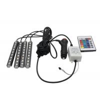 Wholesale Sound Activated Car Pixel RGB LED Flexible Strip Wireless Remote Control 16 Colors from china suppliers
