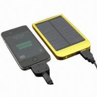 Wholesale 2600mAh Portable Power Banks with Solar Charge Function from china suppliers