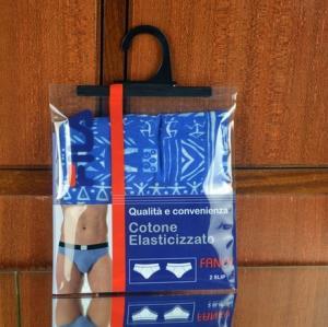Best Garment  Laminated Zip Plastic Poly Bag with Hanger Custom Printed wholesale