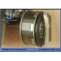 Buy cheap Modular Wedge Wire Screen Filter Nozzle With 0.15mm Filtering Gap from wholesalers