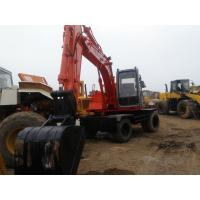 China EX100WD-3 Used wheel excavator 1999 made in japan hitachi used excavator ex100wd-1 on sale