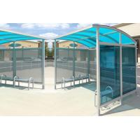 Wholesale Personalized Stainless Steel Bus Shelter Holistic Design Whole Height 2.5-2.8 Meters from china suppliers