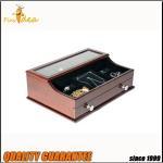 China Newest Design Best Seller Wooden Desk Organize Mens Valet Box for sale
