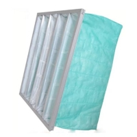 Wholesale Green Color F6 Pocket Air Filter For Operating Room AHU from china suppliers