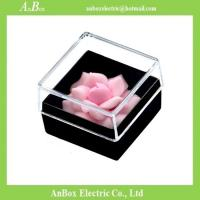 Wholesale 16*16*1cm Poly Styrene Transparent Plastic Box With Cover from china suppliers