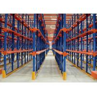 Best Multi Tier Warehouse Metal Drive In Racking For Cold Room Storage / Food Industry wholesale