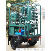 Trailer Mounted Two Stage Transformer Oil Filtration Machine Oil Dehydration And Degassing for sale