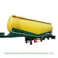 Wholesale 50-70cbm 2/3 Axle Cement Silo Trailer , Dry Bulk Cargo Trailer 40 - 100 Tons from china suppliers