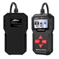 China ABS Housing 12v Battery Load Tester Konnwei Diagnostic Tools Kw210 Fast Running Speed on sale