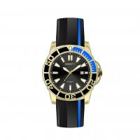 Custom Logo Silicone Watches Waterproof , Silicone Watches For Men