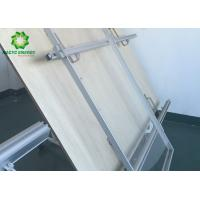 Aluminum Rooftop PV Mounting Systems / Solar Panel Roof Fixing Brackets