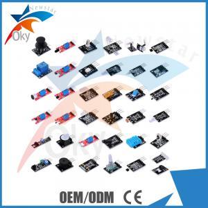 Best DIY  Electronic Sensor Kit 37 in 1 Sensor Module Starter Kit for Ardu wholesale