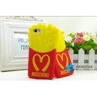Wholesale McDonalds Fries Silicone Moschino Iphone Protect Case Waterproof Dustproof from china suppliers