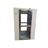 Buy cheap Fully Transparent Door Air Shower Tunnel / Air Shower Room With CE Certification from wholesalers