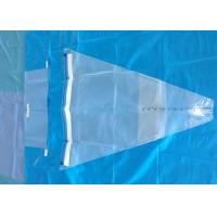 Sterilely Disposable Medical Drapes Gynecology Baby Birth Perineal Blue Green for sale