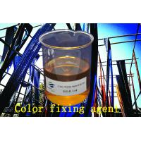 China Dye Fixing Agent Yellow To Brown Viscous Liquid For Textile Dyeing Auxiliaries on sale