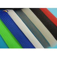 Wholesale RoHS UL  promotional PET expandable black nylon braided sleeving from china suppliers