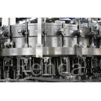 Best Carbonated Drink Filling Plant PET Bottle Filling Machine With CO2 Mixing System wholesale