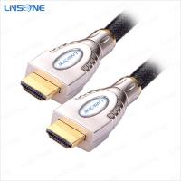 Wholesale Linsone Metal assembly 19pin hdmi cable 1.4V from china suppliers