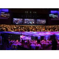 Front / Back Service Rental LED Display 7.625mm Pixel Pitch 140° Viewing Angle