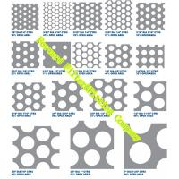 Wholesale Water Strainer Perforated Metal Sheet Patterns / Perforated Stainless Steel Plate For Exhibition Stand from china suppliers