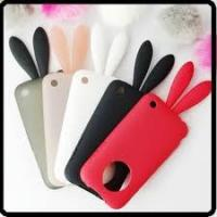 Wholesale Best apple Rabito iPhone 4G cell phone TPU silicone case with rabbit tail  from china suppliers