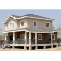 Wholesale Anti Earthquake Light Steel Structure Villa With 3 Bedrooms Integrated LGS Wall from china suppliers