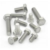 Wholesale High Precision Galvanized Hex Bolts Anti Corrosion Hardware Accessories from china suppliers