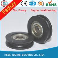Quality High demand plastic pulley with bearings widnow roller drawer slide for sale