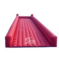 China Commercial grade giant steep inflatable zorb ball ramp slope for zorb ball rolling for sale